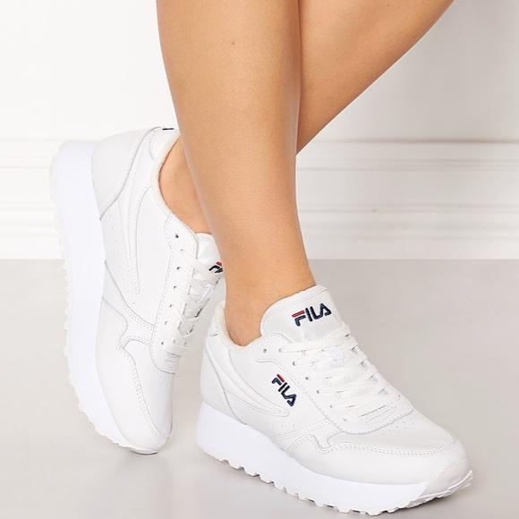 Fila Shoes | Likenew White Fila Orbit